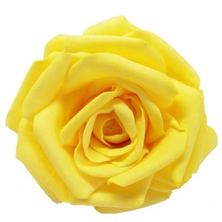 Роза стандарт навал желтый 0340
